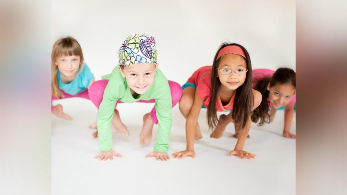 Keep Kids Fit At Kintsugi Yoga Studio